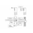 iQAlarm iQA-WLDC2, nyitásérzékelő, vezeték nélküli, 1 bemenettel