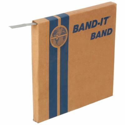 BAND-IT C206, 30,5m hosszú rozsdamentes szalag 12,7mm (1/2 coll)