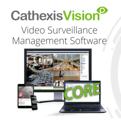 CATHEXIS Vision Core max 48 kamerás videómenedzsment szoftver licenc (CCOR-2001)