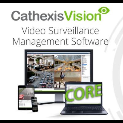 CATHEXIS CCOR-2001, Vision Core max 48 kamerás videómenedzsment szoftver licenc