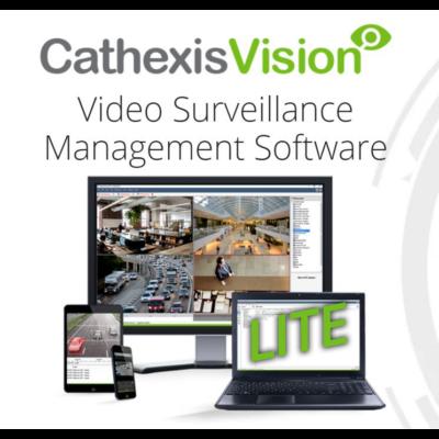 CATHEXIS Vision Catlite 4-48 kamerás videómenedzsment szoftver licenc