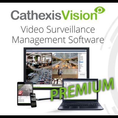 CATHEXIS Vision Premium korlátlan kamerás videómenedzsment szoftver licenc
