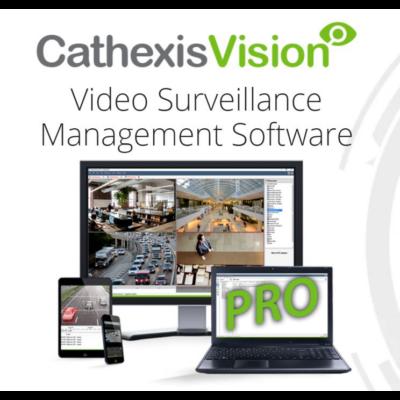 CATHEXIS CPRO-2001, Vision PRO max 150 kamerás videómenedzsment szoftver licenc