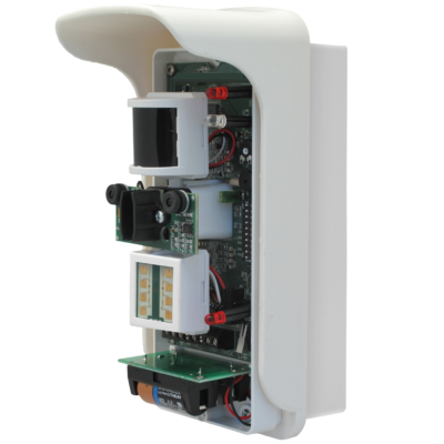DUEVI VIPER-DTF Mobil APPból állítható kül. komb.mozgásérzékelő vezetékes 110°