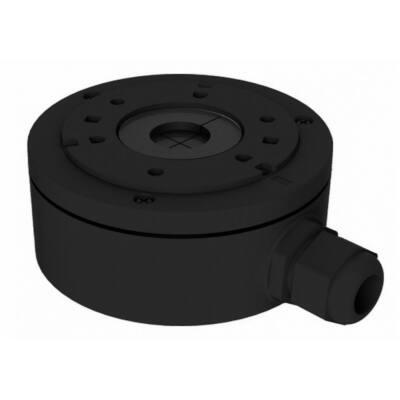 Hikvision DS-1280ZJ-XS-B, kötődoboz cső kamerához, 100mm, FEKETE