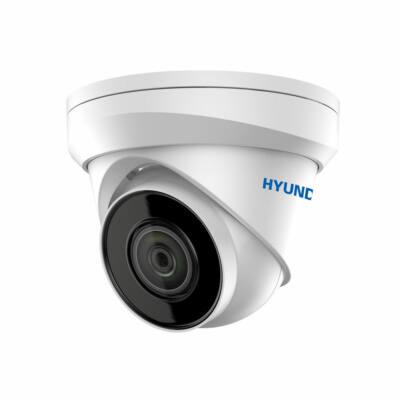 Hyundai HYU-410N, 4MP IP kültéri fix dóm kamera, POE (100°)