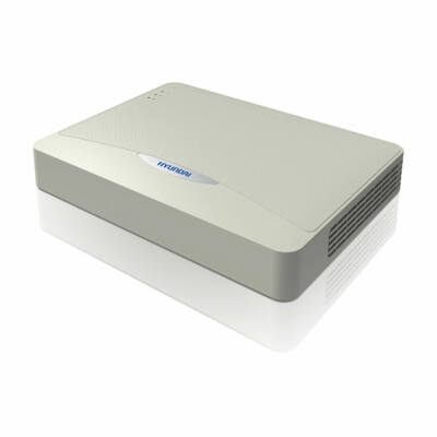 HYUNDAI HYU-524 NVR POE, okos rögzítő, 8*4.0MP IP kamera rögzítő, 8db POE Port,
