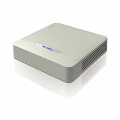 Hyundai HYU-317, 4 csatornás IP POE NVR rögzítő