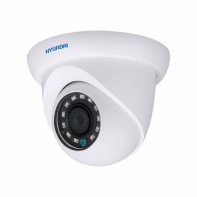 Hyundai HYU-324, kültéri AHD/TVI/CVI IR LED-es dómkamera, 2MP, f=2,8mm