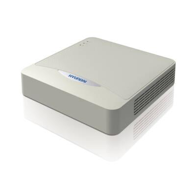 Hyundai HYU-383, 4 csatornás 2MP AHD/TVI/CVI DVR rögzítő + 1 csat. IP