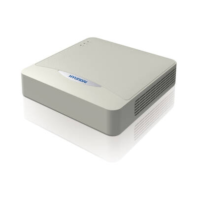 Hyundai HYU-784, 4 csatornás 4MP AHD/TVI/CVI DVR rögzítő, + 1 csat. IP (4MP)
