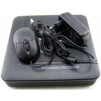 IdentiVision IHD-RT4110/NVR SPARTAN, 4x2MP IP NVR, max. 1db HDD