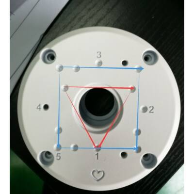 IHD-HB-BULLET, kötődoboz Identivision csőkamerákhoz
