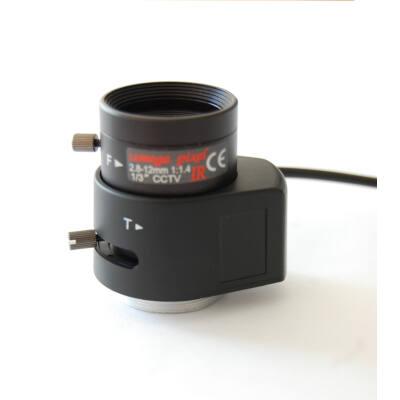 """ICL-M202812IR/14P/2MP, 2 MP D/N DC AI optika, 1/3"""""""
