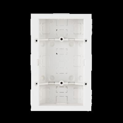JABLOTRON JA-196PL-S fali szerelődoboz JA-1x2P és JA-1x2PW mozgásérzékelők tégla vagy gipszkarton falba való süllyesztéséhez