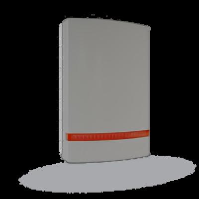 JABLOTRON JA-1X1A-C-GR, hangjelző előlap, piros prizmával