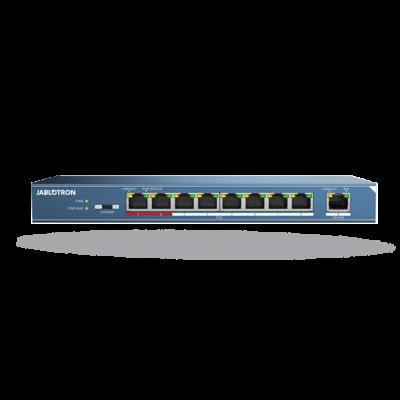 JABLOTRON JI-118Z 8 portos PoE switch JABLOTRON rendszerek és IP kamerákhoz