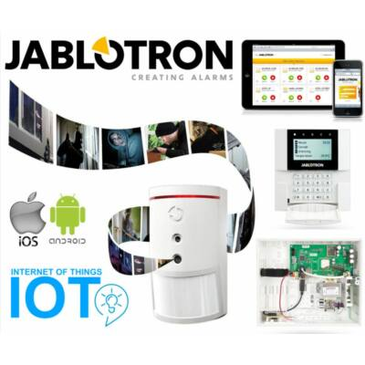 JABLOTRON JA-VV1 KIT, videós riasztáshitelesítő 32z. vez.nélk. okosriasztó szett