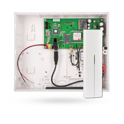 JABLOTRON JA-101KR 50 z. vez. nélk.okosriasztó központ, rádiós modullal, GSM kommunikátorral, LAN kommunikátor nélkül