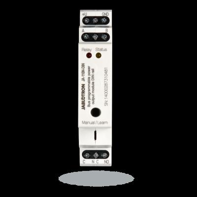 JABLOTRON JA-110N-DIN, teljesítmény PG kimeneti modul DIN sínes