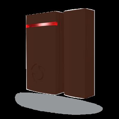 JABLOTRON JA-151MB, vez.nélk. mini mágneses ajtó/ablak nyitásérzékelő, barna