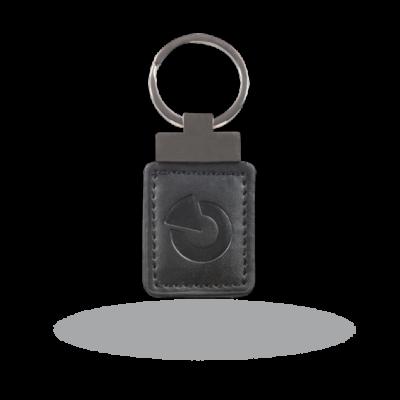 JABLOTRON JA-194J-BK, kulcskarikás proximity azonosító címke fekete bőr tokban
