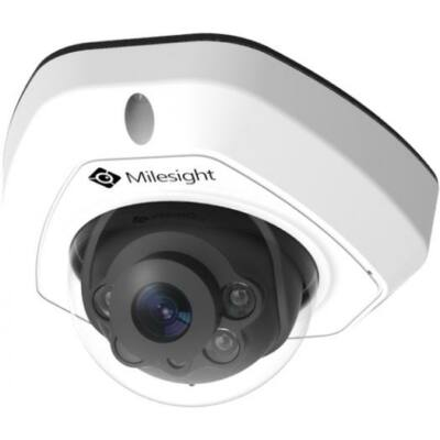 Milesight MS-C8173-PC vandálbiztos dómkamera; 8MP; f=2,8mm; 30FPS; POE; AI