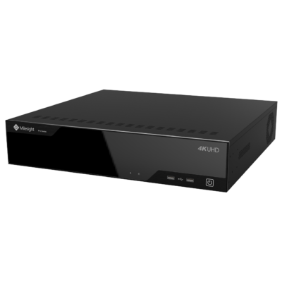 Milesight MS-N8064-UH 64 csatornás PRO NVR; 8db HDD