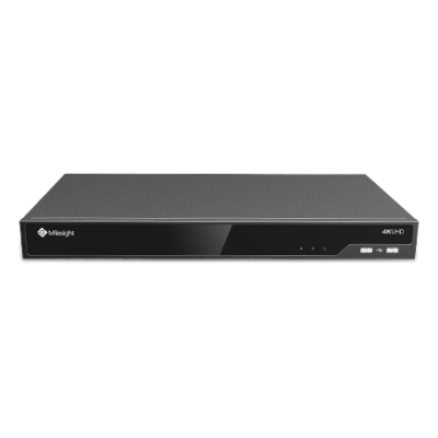 Milesight MS-N5032-UH 32 csatornás PRO NVR; 2db HDD