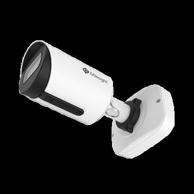 Milesight MS-C8164-PBJ csőkamera; 8MP; 2,8mm; 15FPS; POE; beépített kötődoboz