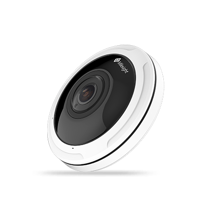Milesight MS-C5374-PB halszem optikás kamera; 5MP; f=1,25mm; 30FPS; POE