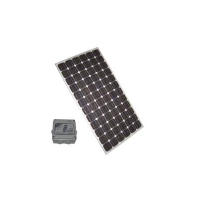 SA-SOLAR02 szett, 50W-os napelem modul intelligens akkumulátor töltővel