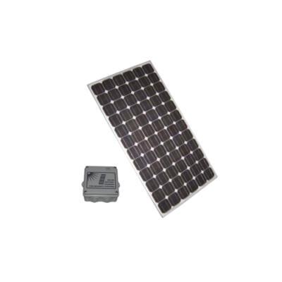 SA-SOLAR10 szett, 145W-os napelem modul intelligens akkumulátor töltővel