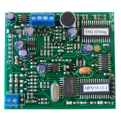 SA816 MPV16, hangmodul