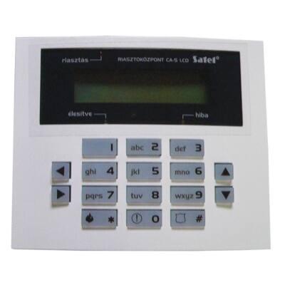 CA10BLUES, kis kék LCD kezelő