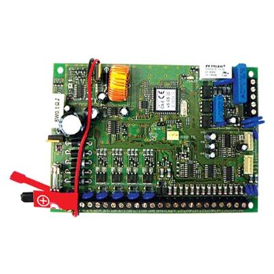 CA6P, 8 (6+2) zónás riasztóközpont panel