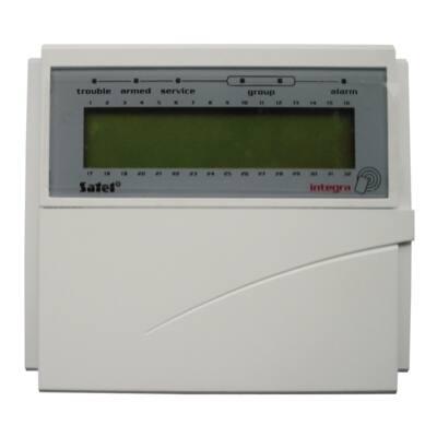 INTKLCDGR, nyitható LCD kezelő