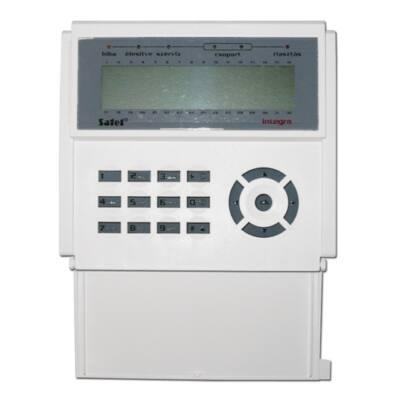 INTKLCDBL, nyitható kék LCD kezelő