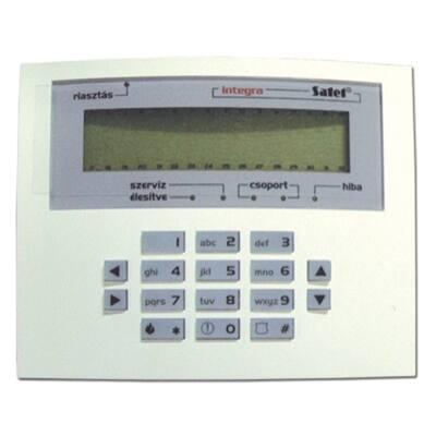 INTKLCDSGR, kis LCD kezelő