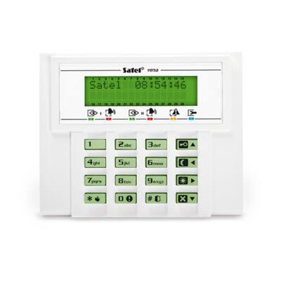VERSALCDGR, LCD kezelő