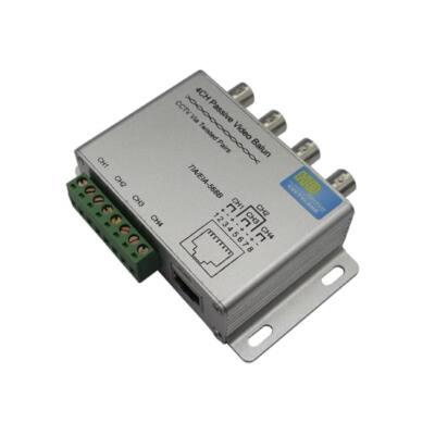 ICA-BP4, 4 csat. HD-CVI,TVI,AHD,CVBS passzív video balun