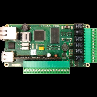 TELL IP Bridge PRO IN6.R6 Panel, IP kommunikátor, VIDEÓS mobil APP-al - IoT