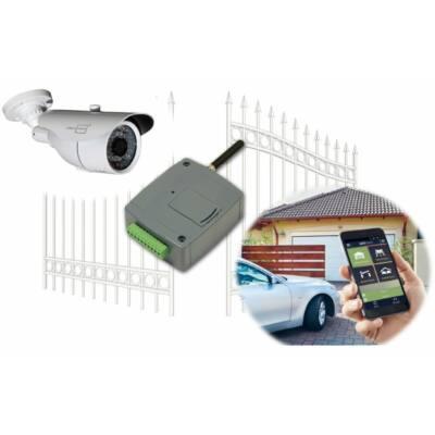 TELL GSM GATE CONTROL PRO 1000, okos kapuvezérlő videós mobil APP-al - IoT