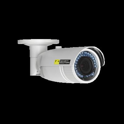 TKH BL1004M1-EI-A IP IR-LED-es csőkamera, 4MP, PoE, 2,8-12mm motor zoom