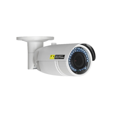 TKH BL1004M1-EI-A IP IR-LED-es csőkamera, 4MP, PoE, 2,8-12mm motor zoom