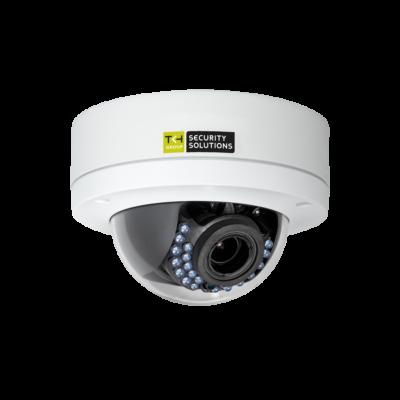 TKH FD1004M1-EI-A IP IR-LED-es dómkamera, 4MP, PoE, 2,8-12mm motor zoom