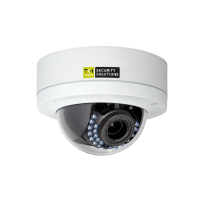 TKH FD1004M1-EI-A IP IR-LED-es dómkamera, 4MP, PoE, 2,8-12mm motor zoom