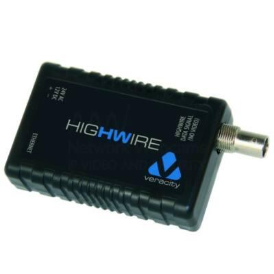 Veracity HIGHWIRE (VHW-HW) Ethernet jelátalakító coax kábelhez