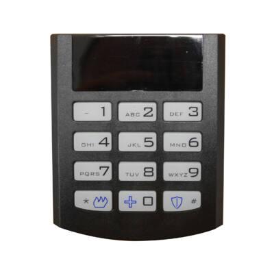 iQAlarm iQA-KP16LED/BLACK, LED kezelő, vezetékes