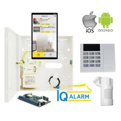 iQAlarm iQA-7161WLP-SET2/SIM, okos riasztó SZETT, 16db rádiós zóna, APP, IoT+SIM